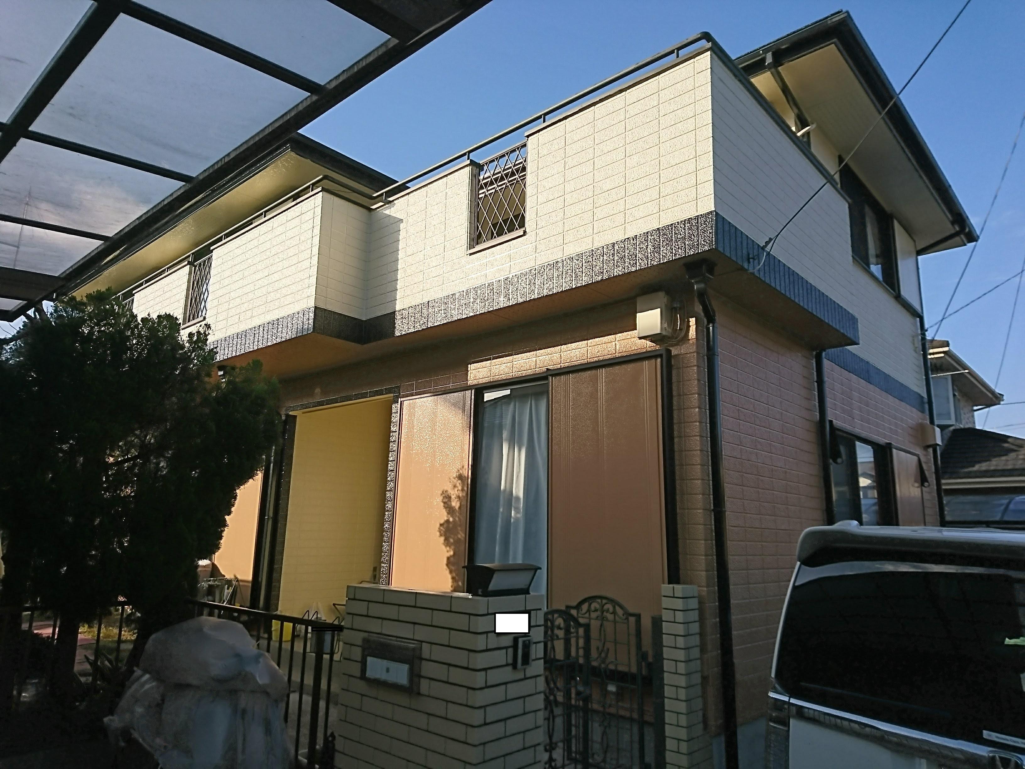 地元の塗装屋さんでお家ピカピカ【屋根、外壁塗装】T様